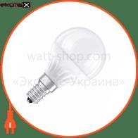 Светодиодная лампа 3.5W 25W 220V Е14 LED STAR CLASSIC P OSRAM теплый белый матовая