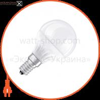 Светодиодная лампа 6.5W 40W 220V Е14 LED STAR CLASSIC P OSRAM теплый белый матовая
