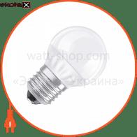 Светодиодная лампа 6.5W 40W 220V Е27 LED STAR CLASSIC P OSRAM теплый белый матовая