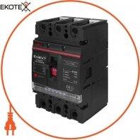 Силовой автоматический выключатель e.industrial.ukm.250Re.160 с электронным расцепителем, 3р, 160А