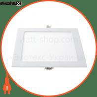 Світлодіодна панель квадратна-6Вт (120x120) 4200K, 470 люмен