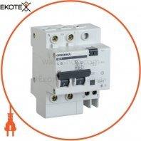 Дифференциальный автоматический выключатель АД12 2Р 63А 30мА GENERICA
