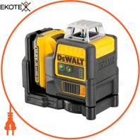 Уровень лазерный линейный DeWALT DCE0811D1G