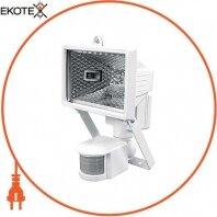 Прожектор галогенний e.halogen.move.150.white 150Вт, білий з датчиком на рух