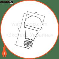 """промо-набір eurolamp led лампа a50 7w e27 4000k акція """"1+1"""" светодиодные лампы eurolamp Eurolamp MLP-LED-A50-07274(E)"""