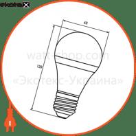 промо-набір eurolamp led лампа еко a60 8w e27 3000k акція 6in1 (16) светодиодные лампы eurolamp Eurolamp MLP-LED-A60-08273(6)