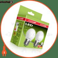"""Промо-набор EUROLAMP LED ЕКО G45 5W E27 4000K акция """"1+1"""""""