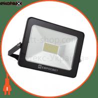 Прожектор світлодіодний ЕВРОСВЕТ 30Вт 6400K EV-30-01 STAND 2400Лм НМ