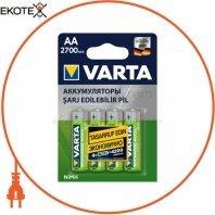 Аккумулятор VARTA AA 2700mAh 4 шт