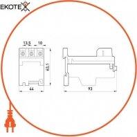 Enext i0120001 независимая основа теплового реле e.industrial.azh.22 для реле на 22а