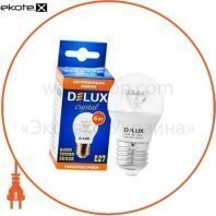 лампа светодиодная BL50P 6 Вт 3000K 220В E27 теплый белый crystal