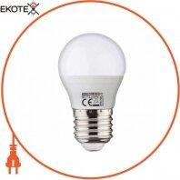 Лампа шарик SMD LED 8W 6400K Е27 800Lm 175-250V