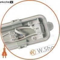 светильник промышленный евросвет 1*600мм под лампу т8 led-sh-10 ip65 slim