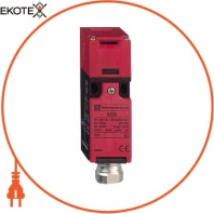 """plastic safety switch XCSPA - 1 NC + 1 NC- slow break - 1 entry tapped 1/2"""" NPT"""