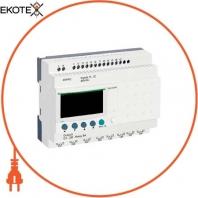 compact smart relay Zelio Logic - 20 I O - 48 V AC - no clock - display
