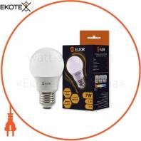 Лампа LED А55 7Вт Е27 2700K ELCOR
