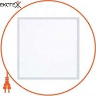 Панель встроенная LED 45W 6400K 3375Lm 175-265V 595x595x35мм.