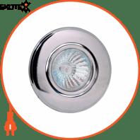 Светильник галог. поворотный MR16 GU5.3 220-240V d-85мм белый круглый