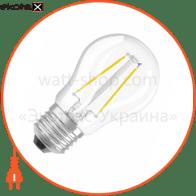 LED лампа OSRAM LED RETROFIT CLASSIC RF CLP25 2W 827 230V FIL E27  4052899941618