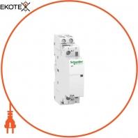 Модульный контактор iCT25A 2НО 230/240В АС 50ГЦ