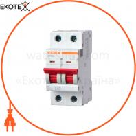 Автоматический выключатель RS4 VIDEX RESIST 2п 6А С 4,5кА