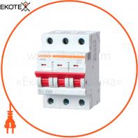 Автоматический выключатель RS4 VIDEX RESIST 3п 10А С 4,5кА