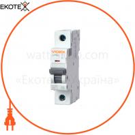 Автоматический выключатель RS6 VIDEX RESIST 1п 10А 6кА С