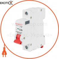 Модульний автоматичний вимикач e.mcb.stand.60.1.C40, 1р, 40А, C, 6кА