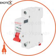 Модульний автоматичний вимикач e.mcb.stand.60.1.C50, 1р, 50А, C, 6кА