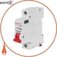 Модульний автоматичний вимикач e.mcb.stand.60.1.C35, 1р, 35А, C, 6кА