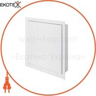 Дверцы металлические ревизионные e.mdoor.stand.400.500.z 400х500м с замком