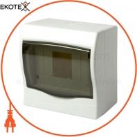 Корпус пластиковий 4-модульний e.plbox.stand.n.04mU, навісний Multusan