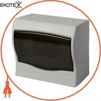 Корпус пластиковий 6-модульний e.plbox.stand.n.06m, навісний Multusan