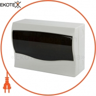 Корпус пластиковий 12-модульний e.plbox.stand.n.12mU, навісний Multusan