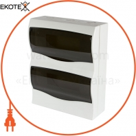 Корпус пластиковий 24-модульний e.plbox.stand.n.24mU, навісний Multusan