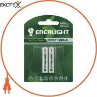Аккумулятор ENERLIGHT Professional AAA 1000mAh BLI 2
