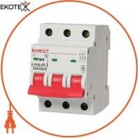 Модульний автоматичний вимикач e.mcb.stand.45.3.B6, 3р, 6А, В, 4,5 кА