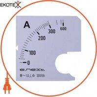 Шкала до амперметра щитового e.meter72.a300.scale АС 300А 72х72мм
