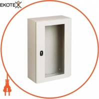Шкаф S3D с прозрачной дверью 4х4х2