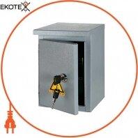 Корпус e.mbox.stand.n.15.z металлический, под 15мод., герметический IP54, навесной, с замком