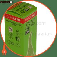 candle tailed 42w 220v e14 clear галогенные лампы eurolamp Eurolamp NNG-CLT/42/220(C)