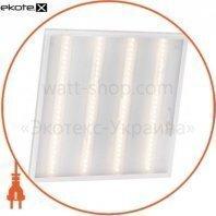 Светодиодный светильник офисный DELUX CFQ LED 40 36W PL01 4000K (595*595) призм