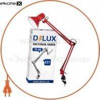 Светильник настольный DELUX TF-06_E27 красный