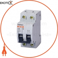 Автоматический выключатель ENERGIO SP 2P C 50А 4.5кА