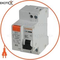 Дифференциальный автоматический выключатель ENERGIO SP-L 1P+N C 16А 4.5кА
