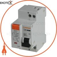 Дифференциальный автоматический выключатель ENERGIO SP-L 1P+N C 25А 4.5кА