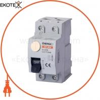 УЗО ENERGIO SP-RM 2P 25А 10мА тип AC Электромеханический