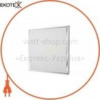 Накладная светодиодная PANEL-B2B 6400K 36Вт 220-240В 605*605*50мм комплект с МЕТАЛЛИЧЕСКОЙ рамкой
