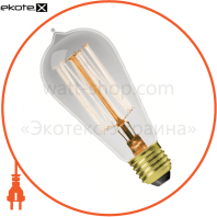 EUROLAMP ЛОН Капля ArtDeco ST64 60W E27 2700K dimmable