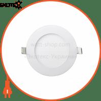Встраемая Круглая LED Панель 464-RRP-06 Цвет 6400K 6W - O120mm / O107mm - 470lmВбудована Кругла LED Панель 464-RRP-06 Колір 6400K 6W - O120mm / O107mm - 470lm